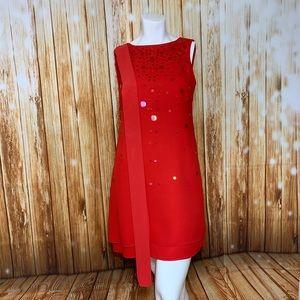 Liz Claiborne Night Shift Dress Sequin Sleeveless